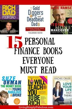 If you're looking for a few great books to help you to get your finances right, look no further. Here are personal finance books that have changed my life and have helped me to make more money, save more money, and fix my credit.