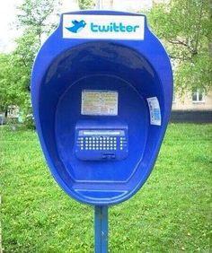 Sabias que el Rusia existen cabinas para tuitear en la calle?   No sabia que era imposible,,, y lo hice :-)   Scoop.it