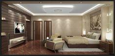 Hotel bedroom in Morocco