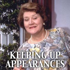 Gotta Love That Bucket Woman!. Hyacinth Bucket. I watch this on PBS on Saturday nights along with other brit comedies. With her china, Moobile phone and dinner parties, she was the up and comer, but only in her own mind. Poor Richard.