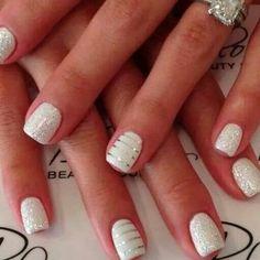 Wedding day nails