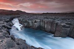 """Cold River"", Húsafell, W-Iceland, by Örvar Þorgeirsson"