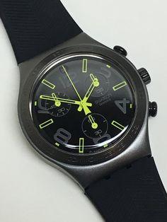 Swatch Watch Irony  Chrono Ray Of Light Black by ThatIsSoFunny
