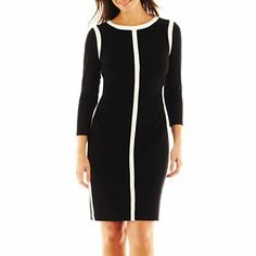 61cb86bc498 American Living Long-Sleeve Contrast Dress - jcpenney from  90 to  65 11-21