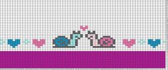 Tricksy Knitter Charts: snails by albjen