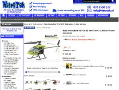 The Honey Bee V2 is the latest version of this worldwide famous beginners helicopter. If you want to learn how to fly a proper single blade helicopter then this is the best choice. The Esky Honey Bee Series of rc helicopters feature good performance for superior strength, stability, controllable flight and durability. Honey Bee helicopters are designed with beginners in mind and are fully assembled at the factory. You can enjoy flying your helicopter within minutes of opening the box.