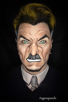 Argenis Pinal transforms himself and his models into superheroes and Marvel comic characters. Argenis relies solely on the magic of makeup to transform himself into the heroes we read about. Don't believe these aren't drawings? J. Jonah Jameson