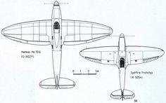 Heinkel He-70 (1932) as a prototype of Spitfire