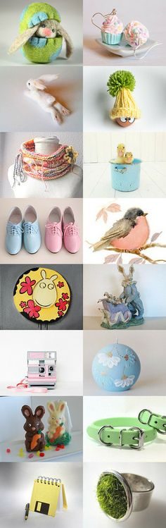 Easter Suprises by Sue Petri on Etsy--Pinned with TreasuryPin.com