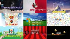 TOP 9(#3) ALL OF LOGOS PLAY WITH OBJECTS PARODY Wb Logo, Dreamworks Animation Skg, N Netflix, Game Logo, Cool Logo, Objects, Play, Logos, Youtube