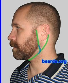 Designing a neckline for your full beard. More full beards are ruined by bad necklines than just about any other beard-growing error. Don't let your full beard be the victim of a bad neckline. Learn how to define a neckline that makes your beard look its best. Be sure to choose the right cheek line for your full beard, too. There is no single correct method for defining the neck line, but these guidelines should help you achieve a good result.