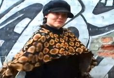 upcycle a sweater into a hat, mittens, poncho