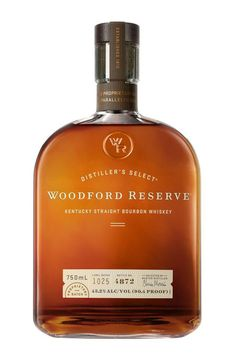 Woodford Reserve Kentucky Straight Bourbon Whiskey from Kentucky, Other U. - Gold Medal at San Francisco World Spirits Competition brilliant honey amber in color, this whiskey is heavy with rich dried fruit, as well as hints o. Best Bourbon Brands, Best Bourbon Whiskey, Bourbon Gifts, Bourbon Kentucky, Tequila, Vodka, Woodford Reserve Bourbon, Small Batch Bourbon, Best Bourbons