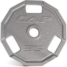 CAP Olympic 12-Sided Grip Plate