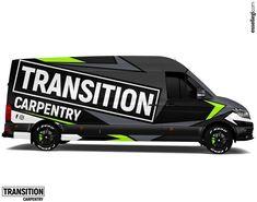 Volkswagen Crafter | Van Wrap Design by Essellegi 🚐🎨🖥🇦🇺 - See all photos o Vw Crafter, Painted Vans, Van Car, Van Design, Vehicle Wraps, Packaging, Branding, Layout, Design Poster