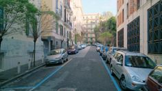 Viale Annibale Cacavello, camino a Castel Sant'Elmo | Nápoles