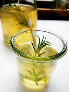Rosemary Lemonade, Syrup, Lemon, Deco, Recipes