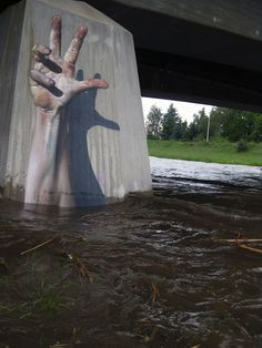 German street artist Tasso This is one of the coolest 3D street art things I've seen! Supercool