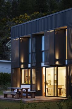 Energy Efficiency, Passive House Design, Steel House, Architect House, Sustainable Architecture, New Builds, Decking, Beautiful Space