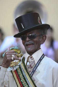 Treme Brass Band's legend Uncle Lionel Batiste (R.I.P.)