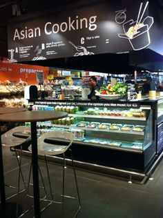 Supermarket Design | Grocery Areas | Retail Design | Shop Interiors | Carrefour Market Barcelona