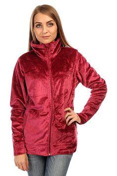 Толстовка утепленная женская Billabong Fleecy Sangria, цена снижена на 20%..