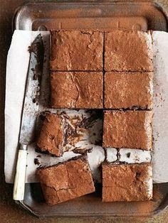 Donna Hay kitchen tools, homewares, books and baking mixes. Quick and easy dinner or decadent dessert - recipes for any occasion. Delicious Desserts, Dessert Recipes, Yummy Food, Baking Desserts, Dessert Ideas, Brownie Recipes, Chocolate Recipes, Chocolate Brownies, Gooey Brownies