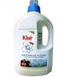 Klar Organik Çamaşır Yıkama Sıvısı Waschnuss Beyaz+Renkli 1,5lt