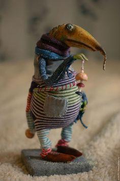 Коллекционные куклы ручной работы. Гульф. Белозёрова Татьяна (BizWoo). Ярмарка Мастеров. Грунтованный текстиль, масляные краски
