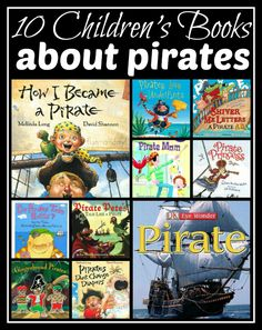 10 Children's Books about Pirates