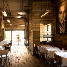 Barcelona Wine Bar in Inman Park.  Tapas, and according to the Quick + Dirty blog, gorgeous, warm and cozy!  Can't wait.