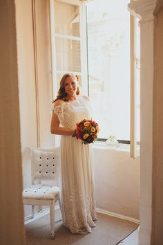 kendra + spencer | Omelia Gown by Catherine Deane for BHLDN | #BHLDNbride
