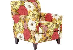 totally in love with this chair. almost purchased it today but it didn't match our new sofa. bummer!