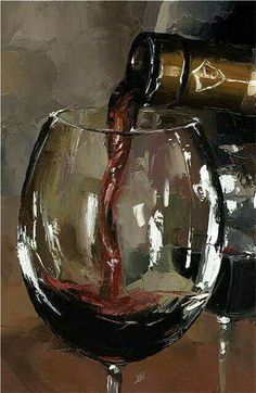 Victor Bauer - a great still life painting I really admire. Painting Still Life, Paintings I Love, Oil Paintings, Wine Painting, Painting & Drawing, Wine Art, Painting Inspiration, Cool Art, Art Projects