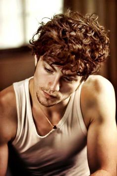 12 Best Men S Curly Hair Color Trends Images Man Hair Styles