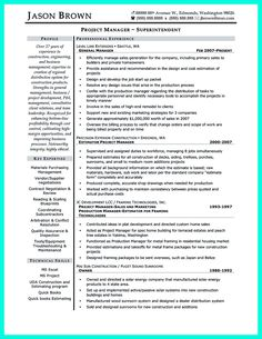 construction superintendent resume can be in simple design but it still looks like a professional