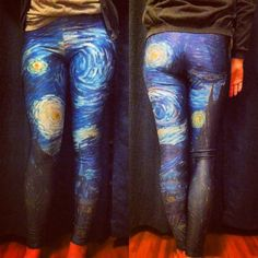Starry Night Leggings - LIMITED | Black Milk Clothing ~ they no longer make these but I love them so freaking much!