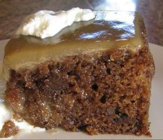 Christina's Cucina: Sticky Toffee Pudding...heaven on a plate!