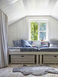 rustic swedish cottage