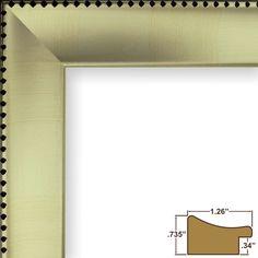 Craig Frames Various Silver  Queen Ann Style Picture Frames Poster Frames #CraigFramesInc #QueenAnneStyle