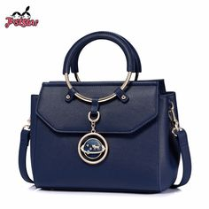 JUST STAR Brand Women's Leather Handbags Ladies Fashion Cat Tassel Shoulder Tote Purse Female Leisure Ring Handle Messenger Bags-in Top-Handle Bags from Luggage & Bags on Aliexpress.com | Alibaba Group