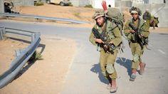 Soldados del ejército del régimen de Israel.