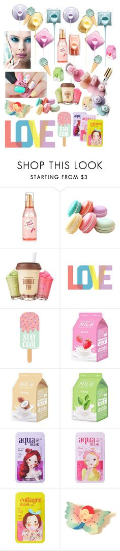 """""""Stay cool"""" by ericjen8685 ❤ liked on Polyvore featuring beauty, Kori, Etude House, Native State, Charlotte Russe and Forever 21"""