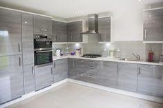 The Hume - Kitchen Modern Kitchen Interiors, Modern Kitchen Cabinets, Modern Kitchen Design, Interior Design Kitchen, Kitchen Pantry Design, Home Decor Kitchen, Kitchen Modular, Open Plan Kitchen Living Room, Cuisines Design