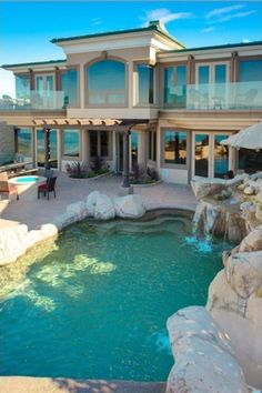 Luxury Homes Exterior, Design Exterior, Dream House Exterior, Interior Design, Luxury Interior, Interior Ideas, Mansion Homes, Dream Mansion, Mansion Interior