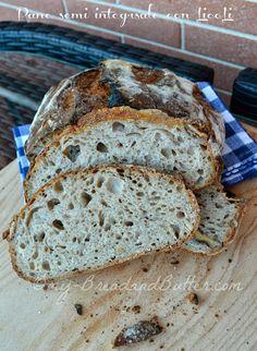 Bread and Butter.....: Pane semi integrale con LicoLi (lievito madre in coltura liquida) !!!!