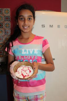 Kitchen assistant on coconut duty.Tanvi Sujanani on the job! Snowball Cake Recipe, Pink Food Coloring, Sports Day, Whoopie Pies, Vanilla Essence, Our Kids, Tray Bakes, Pretty In Pink, Red Velvet