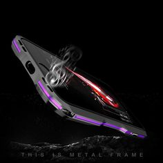 New Metal Shockproof Premium Frame Case with Sound Chamber - Aluminum Frame for iPhone 7 & 8 Series