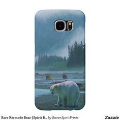 Rare Kermode Bear (Spirit Bear) Wildlife Design Samsung Galaxy S6 Cases