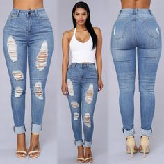 "Search: ""Off Shore Jeans"" Search: ""Strapped Success"" Heels ✨www.FashionNova.com✨"